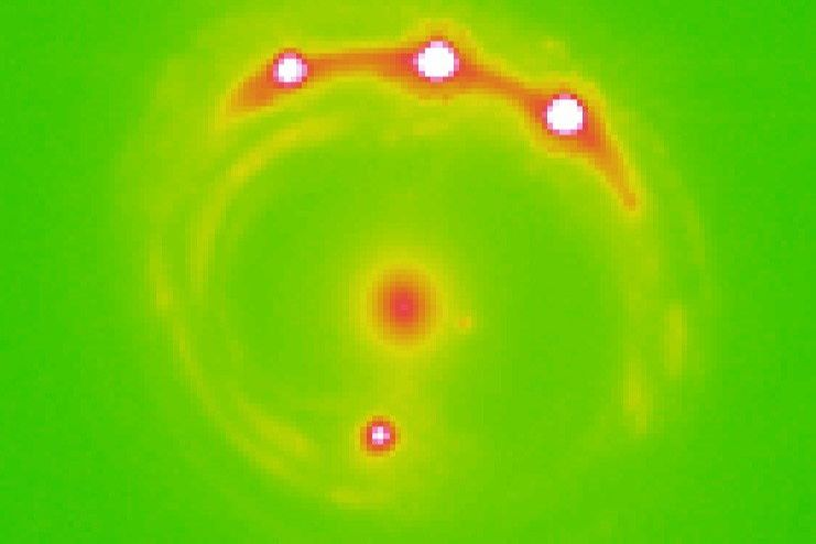 Study gives first evidence of planets beyond the confines of Milky Way