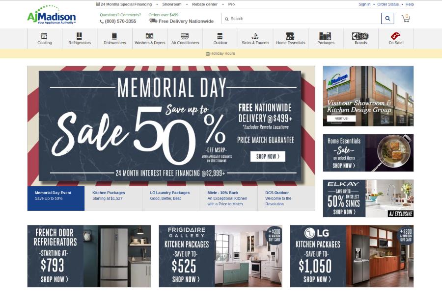 Kitchen Appliance Memorial Day Sales