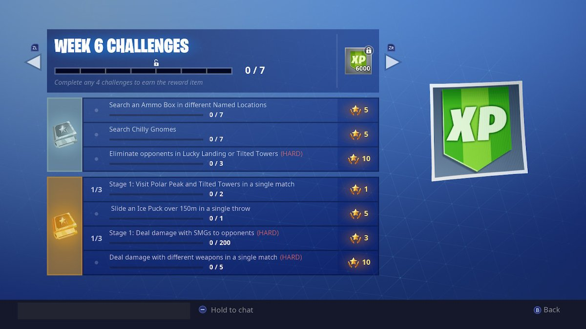 Fortnite Week 6 Challenges Search Chilly Gnomes Guide