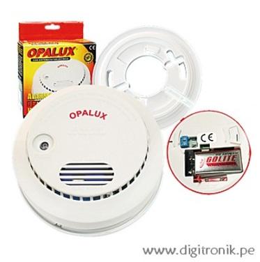 digitronik detector de humo opalux dual 9vdc 220vac lx