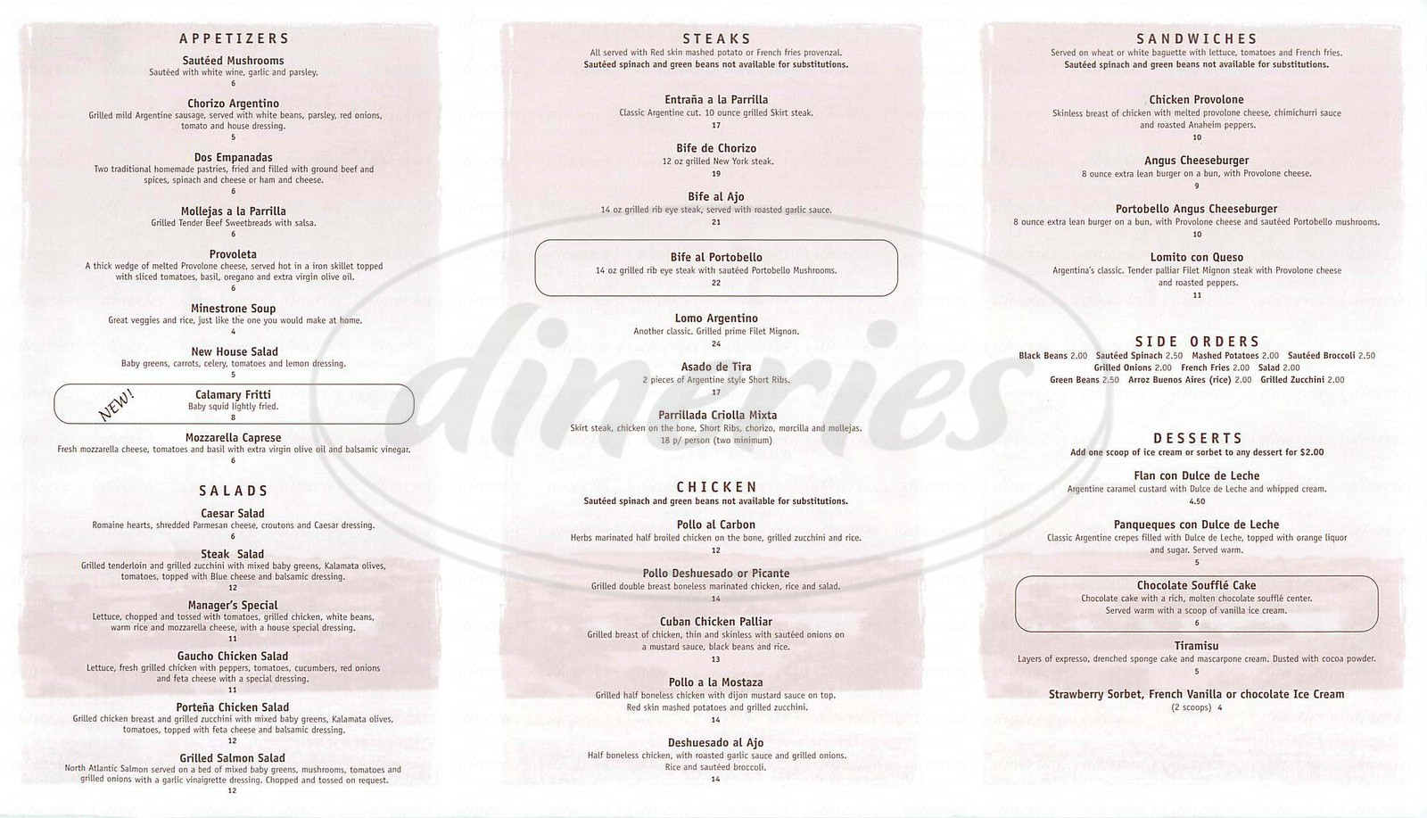 Gaucho Grill Menu - Los Angeles - Dineries | 1600 x 917 jpeg 331kB
