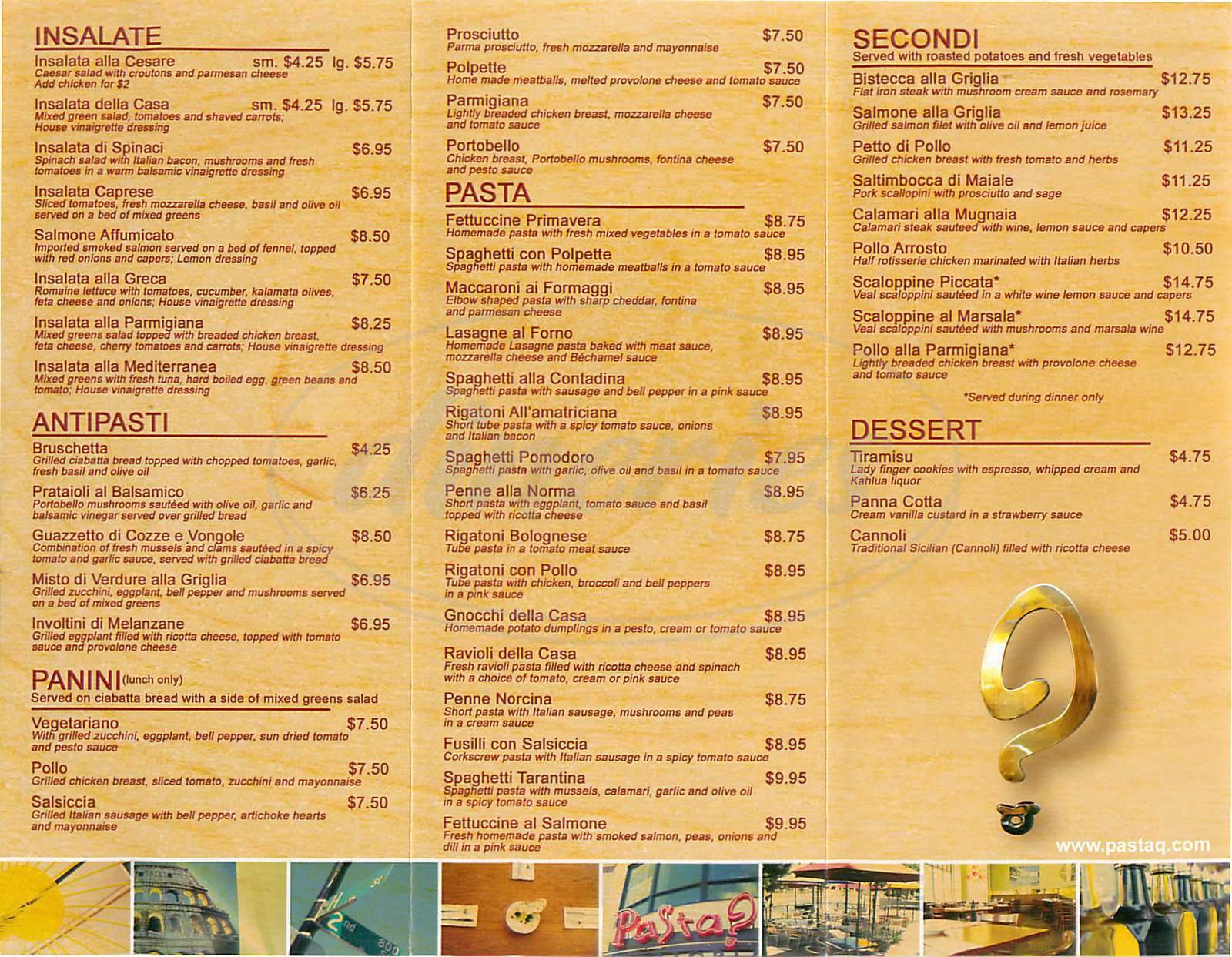 Castro S Restaurant Menu