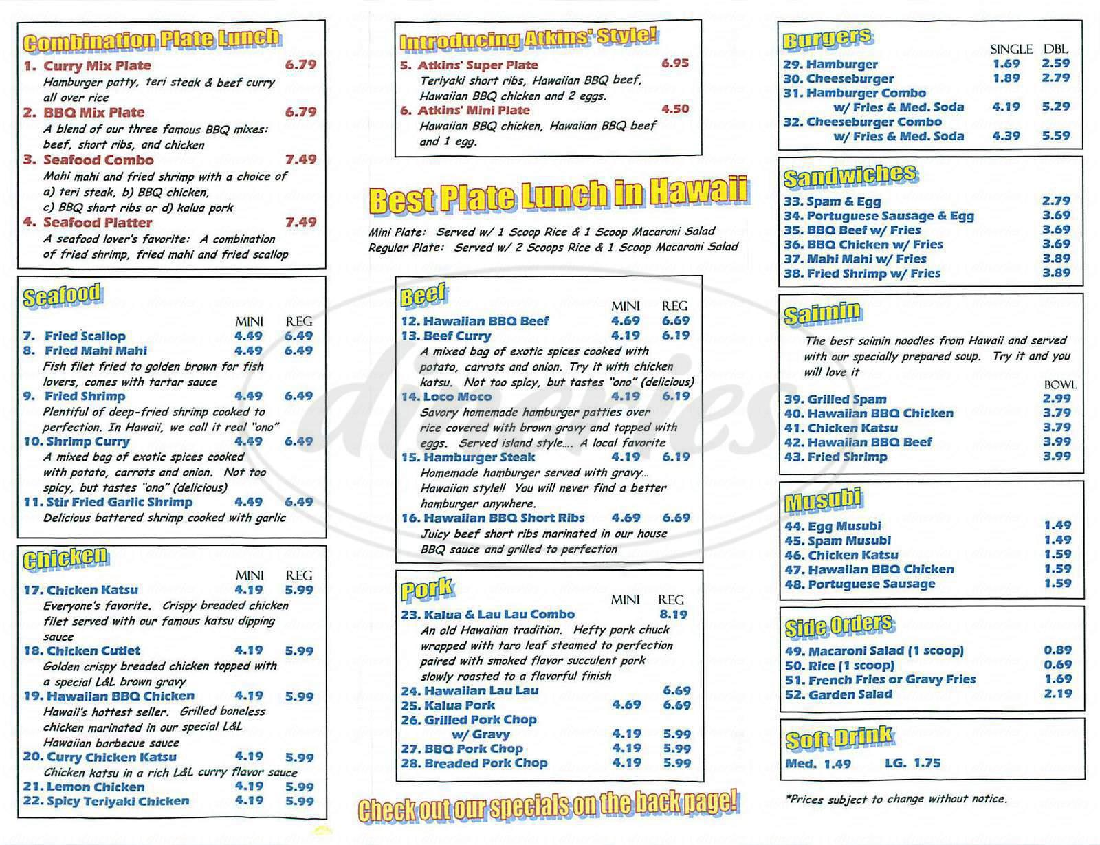 Hawaiian Bbq Catering Long Beach