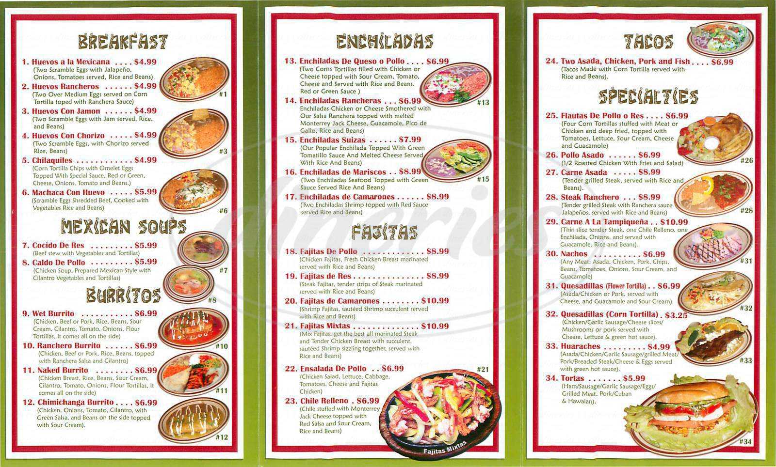 Menu Items And Prices Are Subject To Change Anytime