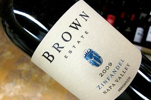 Brown Estate Zinfandel 2009
