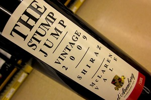 d'Arenberg Stump Jump Shiraz 2009