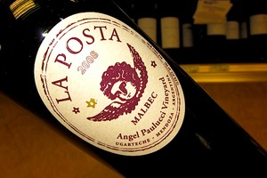 La Posta Angel Paulucci Vineyard Malbec 2008