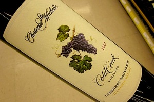 Chateau Ste. Michelle Cold Creek Vineyard Cabernet Sauvignon 2007
