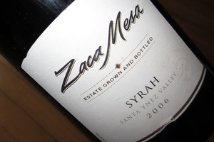 Zaca Mesa Syrah 2006