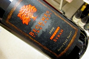 Beckmen Estate Santa Ynez Valley Syrah 2009