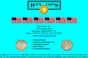 Roy's Coins
