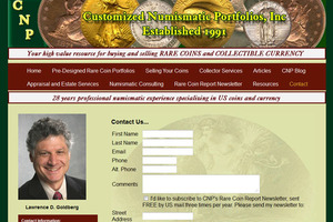 Customized Numismatic Portfolios, Inc.