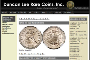 Duncan Lee Rare Coins, Inc.