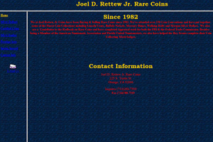 Joel Rettew, Prof. Numismatist
