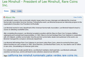 Lee Minshull Rare Coins, Inc.