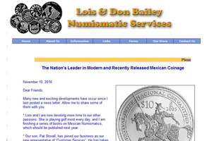 Lois & Don Bailey Numismatic Services