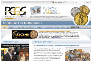 P C G S (Professional Coin Grading Service)