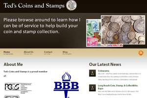 Ted's Coins & Stamps