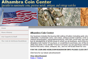 Alhambra Coin Center, Inc.