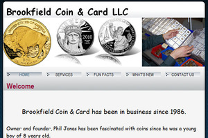 Brookfield Coin & Card