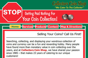The Collector's Coin Shoppe