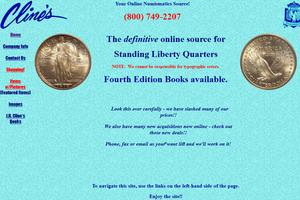 Cline, J.H. - Rare Coins