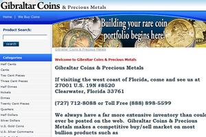 Gibraltar Coins & Precious Metals