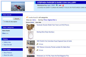 Stephen Parker's Rare Coin Gallery, Inc.