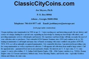 Classic City Coins.com