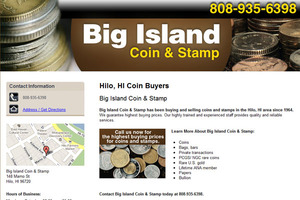 Big Island Coin & Stamp