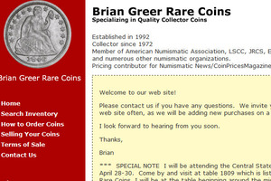 Brian Greer Rare Coins