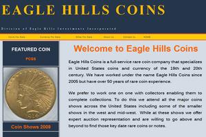 Eagle Hills Coins