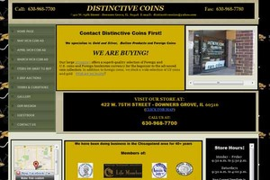 Distinctive Coins
