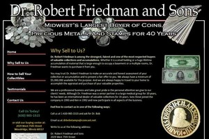 Dr. Robert Friedman Stamp and Coin