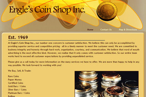Engle's Coin Shop, Inc.