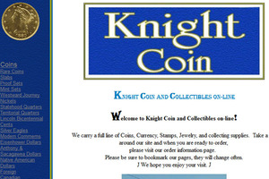 Knight Coin & Jewelry