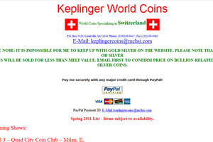 Keplinger World Coins