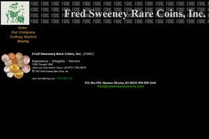 Fred Sweeney Rare Coins