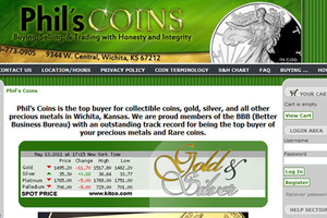Phil's Coins