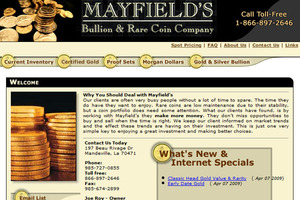 Mayfield's Bullion & Rare Coin Company