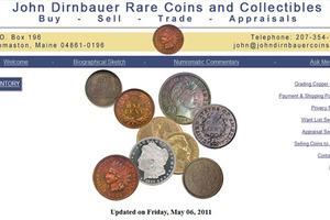 John Dimbauer Rare Coins