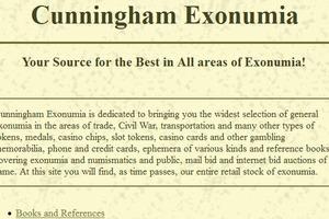 Cunningham Exonumia