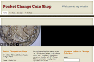 Pocket Change Coin Shop