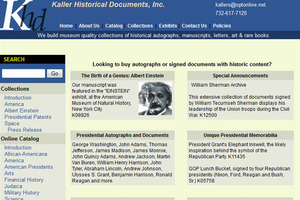 Kaller Historical Documents, Inc.