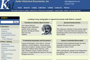 Kaller Historical Documents, Inc.