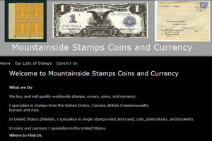 Mountainside Stamps, Coins & Currency