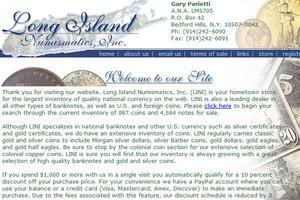 Long Island Numismatics, Inc.