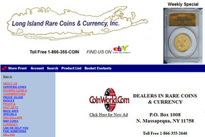 Long Island Rare Coin & Currency, Inc.