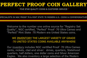 Perfect Proof Coin Gallery