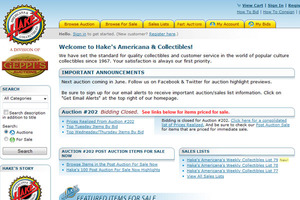 Hake's Americana & Collectibles